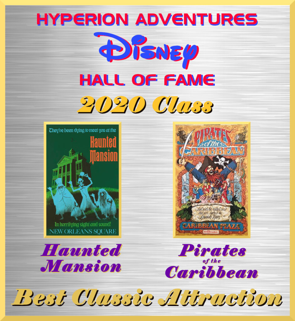 Hyperion Adventures Disney Hall Of Fame - Best Classic Disney Attractions