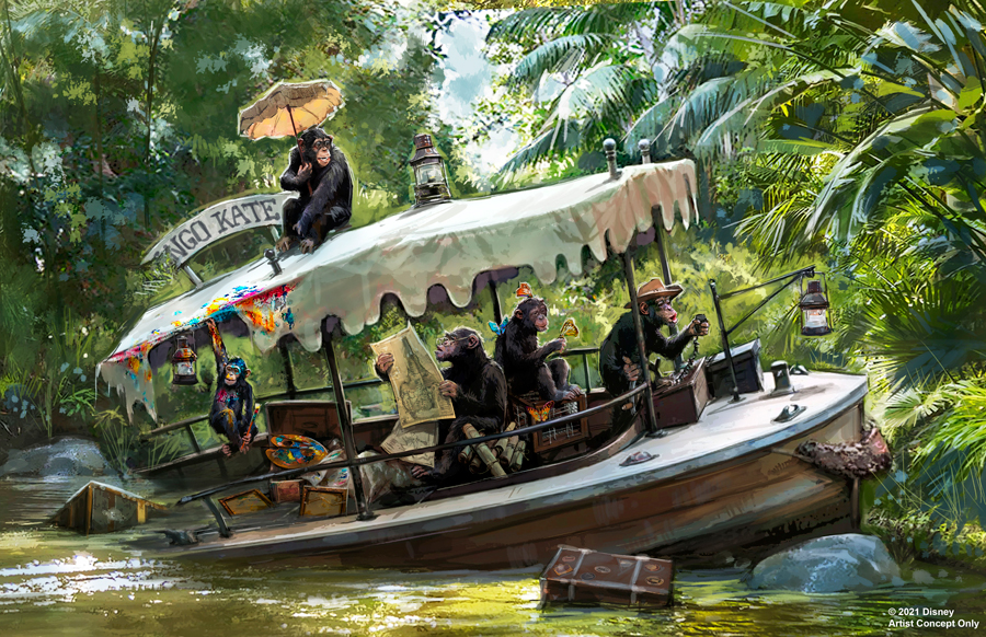 Jungle Cruise Reimagining
