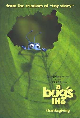 A Bug's Life Movie Poster - Our 5 Favorite Underrated Disney Films