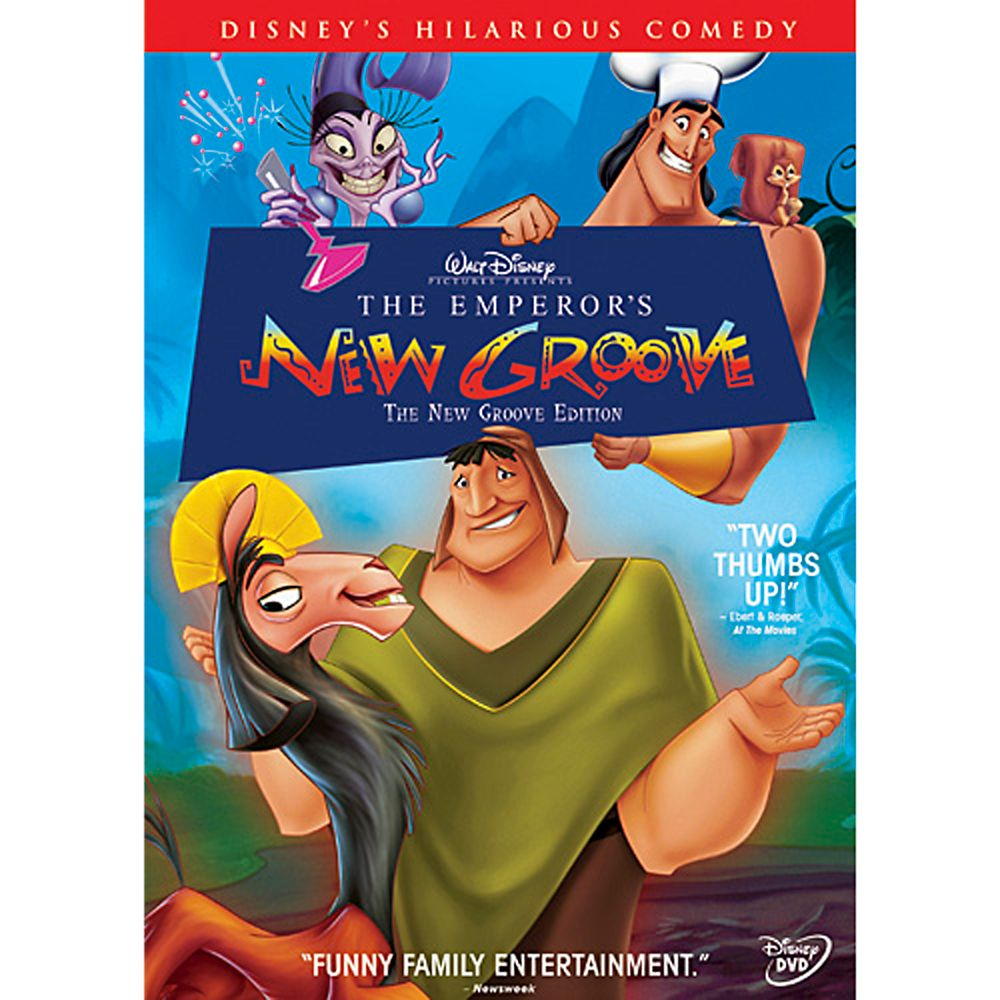 The Emperor's New Groove Movie Poster - Our 5 Favorite Underrated Disney Films