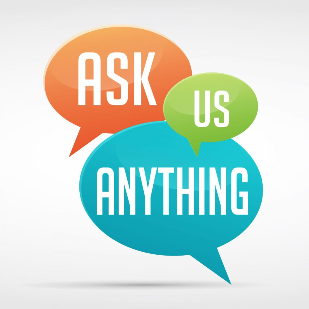 Ask Us Anything logo - Our 2nd Annual Ask Us Anything Show