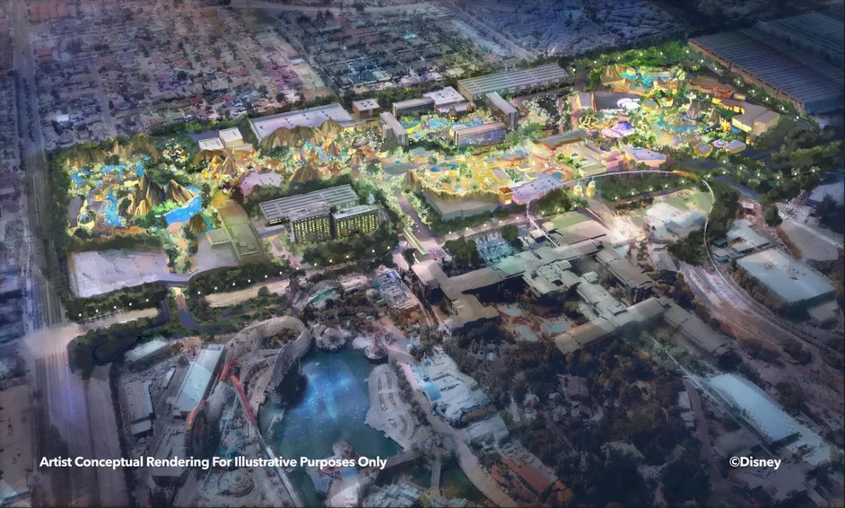 Disneyland Expansion Concept Art - Our 2nd Annual Ask Us Anything Show