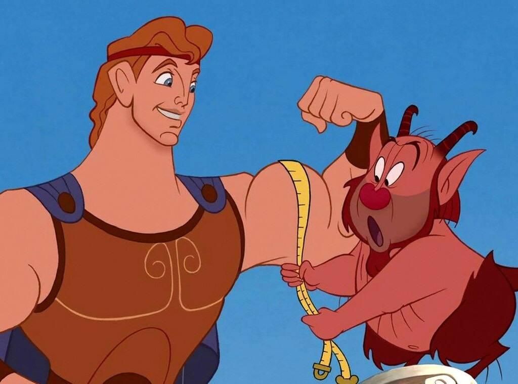 Hercules & Phil - Disney's Hercules - Our 5 Favorite Transformational Disney Songs
