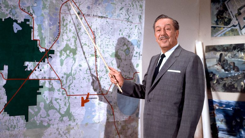 Walt Disney discussing the Florida Project - Countdown to Walt Disney World's 50th Birthday - Part 1 - Disney's Map to the Magic, Kingdom
