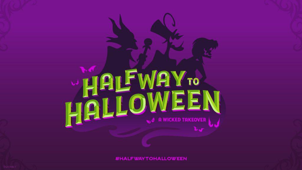 Disney's Halfway to Halloween Logo - Our Return To Disneyland For Re-Opening Weekend