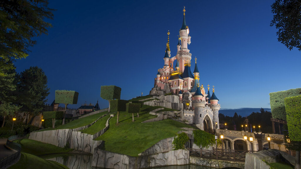Sleeping Beauty Castle - Disneyland Paris - Disney Cruise Line - A Wish And So Much More