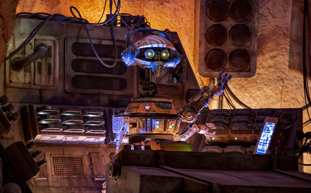DJ R3X at Oga's Cantina in Star Wars: Galaxy's Edge - Countdown To Walt Disney World's 50th Birthday - Part 3 - That's The Ticket!