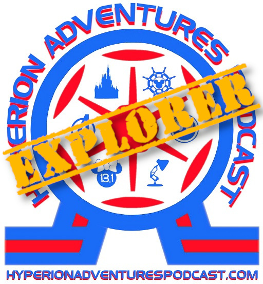 Hyperion Adventures Podcast Patreon Page Explorer Tier Logo - Hyperion Adventures Membership