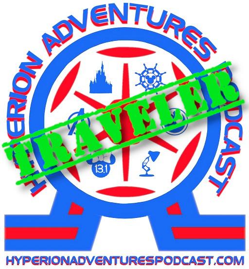 Hyperion Adventures Patreon PageTraveler Tier Logo - Hyperion Adventures Membership
