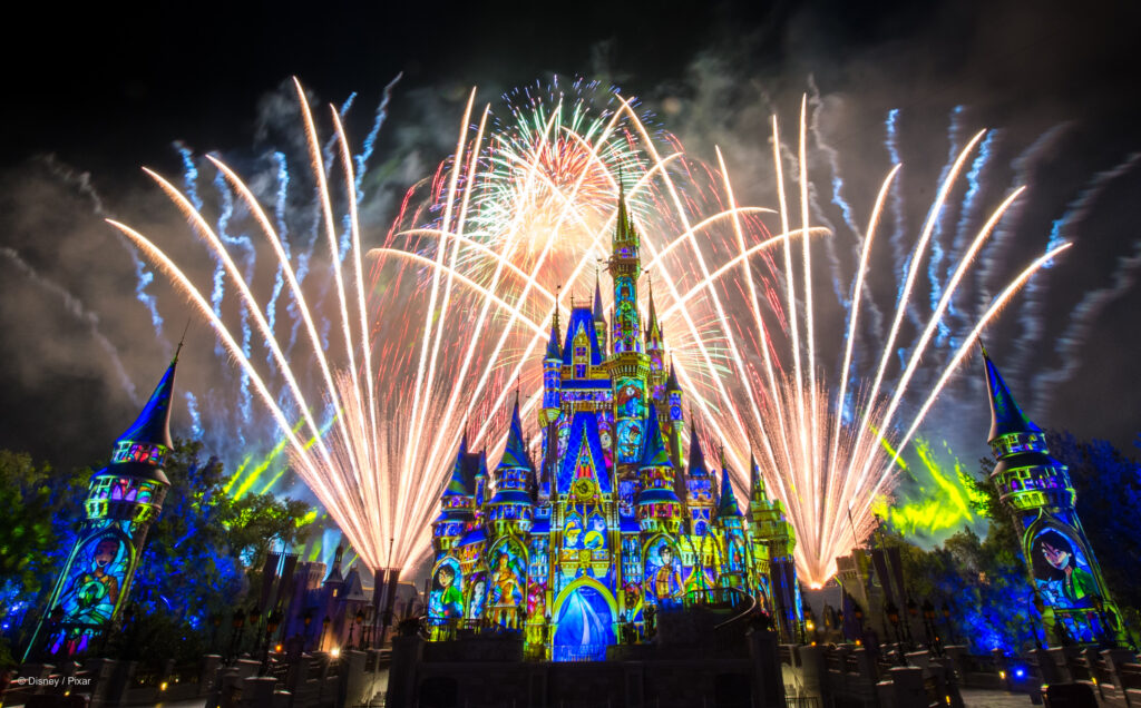 Happily Ever After Fireworks Spectacular at Magic Kingdom in the Walt Disney World Resort - The Evolution Of Disney's Nighttime Spectaculars