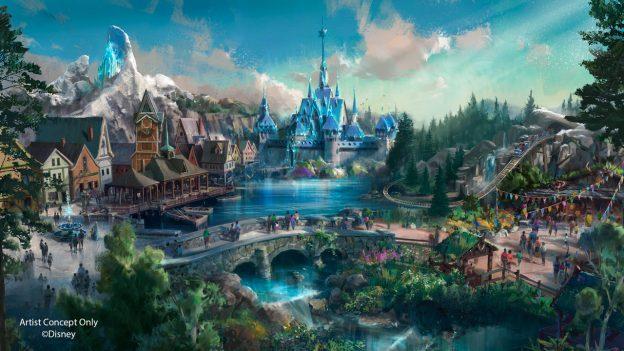 Disneyland Paris Expansion Concept Art - Excitement At Disney Parks Around The Globe