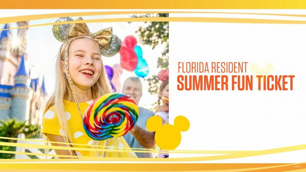 Florida Resident Summer Fun Ticket Offer - Countdown To Walt Disney World's 50th Birthday - Part 4 - Room With A View