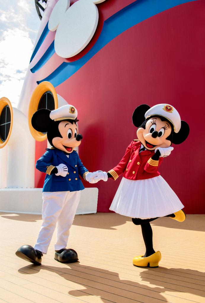 Captains Mickey & Minnie - Back To Cruising - Disney Cruise Line Updates & Information