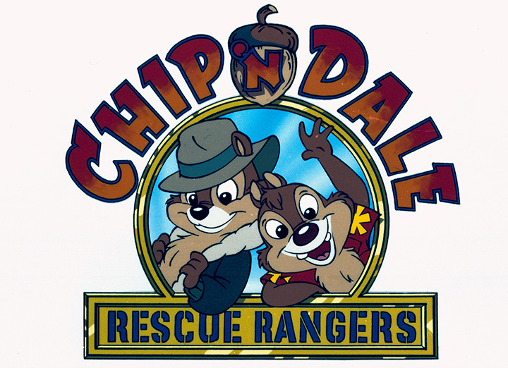 Chip & Dale Rescue Rangers Logo - All About Chip & Dale - Disney's Dynamic Duo