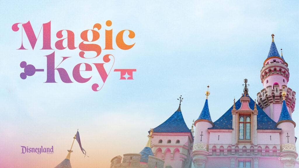 Disneyland's Magic Key program logo - Our 5 Favorite Disney Role Models