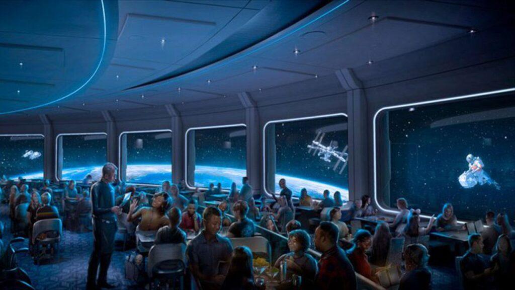 Space 220 Concept Art - Countdown To Walt Disney World's 50th Birthday - Part 5 - Disney's Wonderful WORLD Of Color