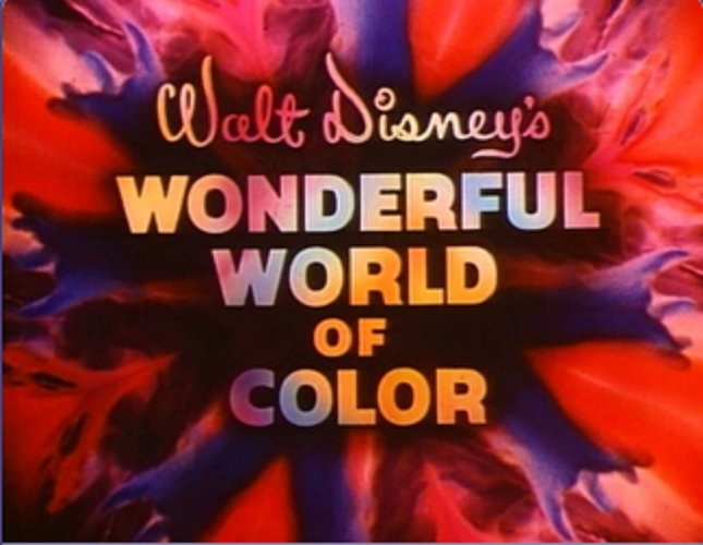 Walt Dsney's Wondeful World Of Color Title Screen - Countdown To Walt Disney World's 50th Birthday - Part 5 - Disney's Wonderful WORLD Of Color