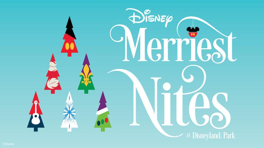 Disney Merriest Nites Logo - Countdown To Walt Disney World's 50th Birthday - Part 6A - The Wonderful World Of Disney