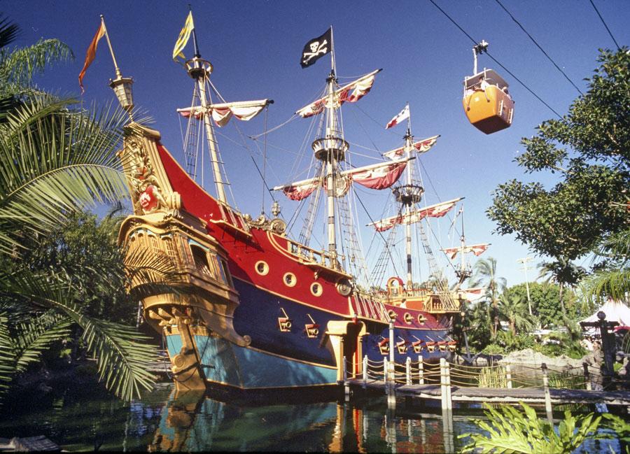 Captain Hook's Galley Restaurant at Disneyland - Old School Magic Kingdom & Disneyland Restaurants From The Past