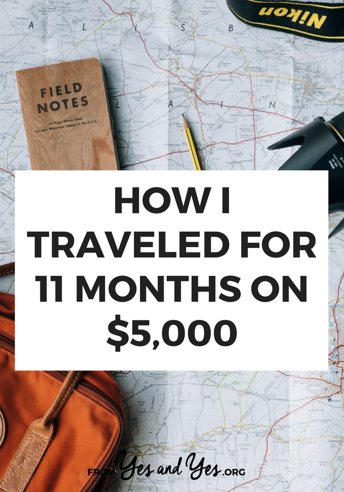 Want to travel on the cheap? Who doesn't? These budget travel tips helped me travel through 7 countries, over 11 months, for just $5,000 dollars. Read on for affordable travel tips you haven't heard before! #budgeting #buildingabudget #saving #budgetingandsaving #moneymanagement #personalfinance #money