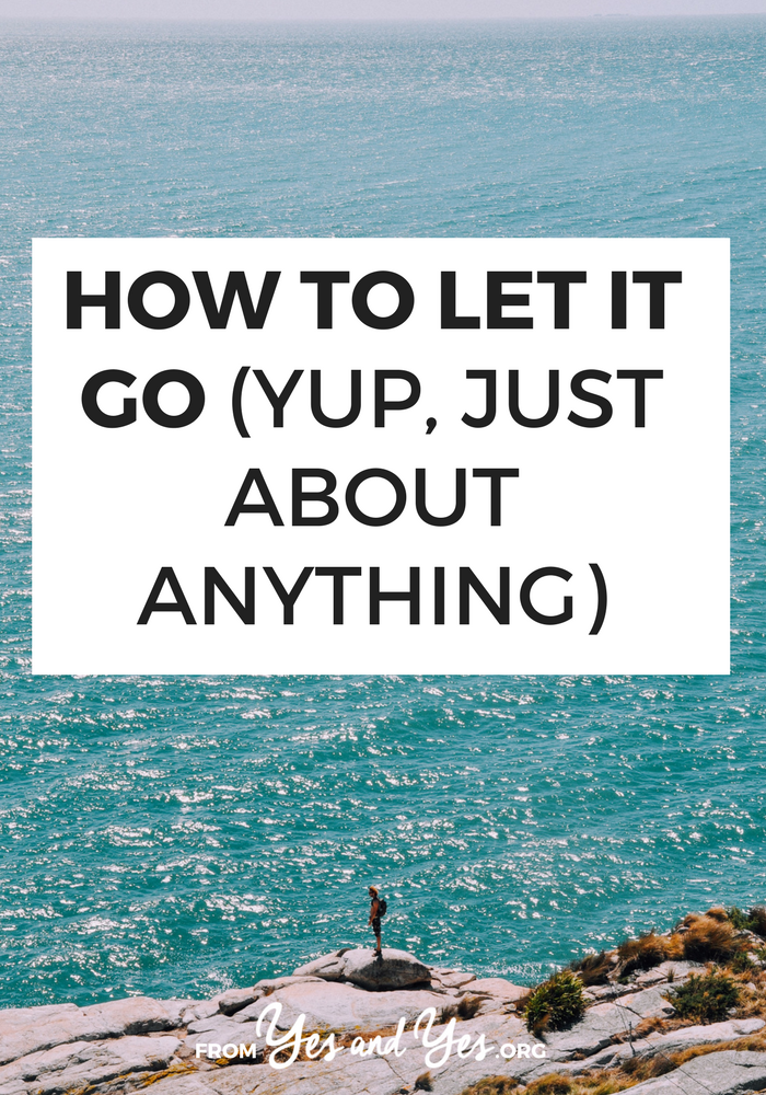 Are you trying to let it go? That grudge? That bad breakup? That co-worker who stole your idea? Read on for tips to let it go. #selfdevelopment #selfcare #selfimprovement #happiness #centered #calm