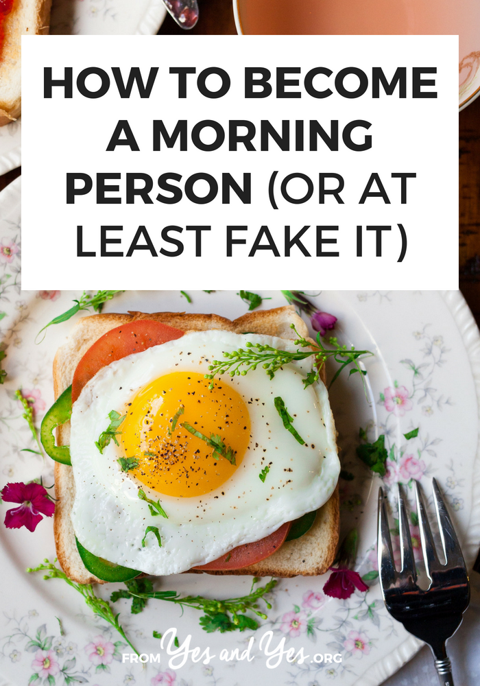 Is it possible to become a morning person? Can you create a morning routine you actually enjoy? You can! Click through for 5 tips to use today.
