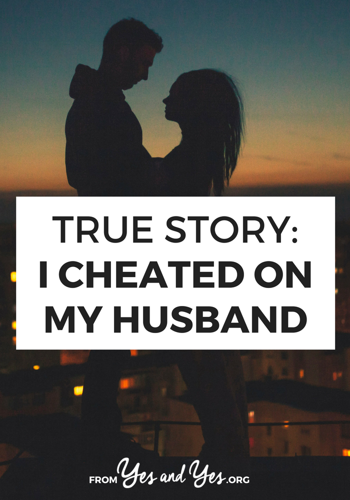 Have you ever cheated on your husband? Would you? Click through for an interview with a cheating spouse.