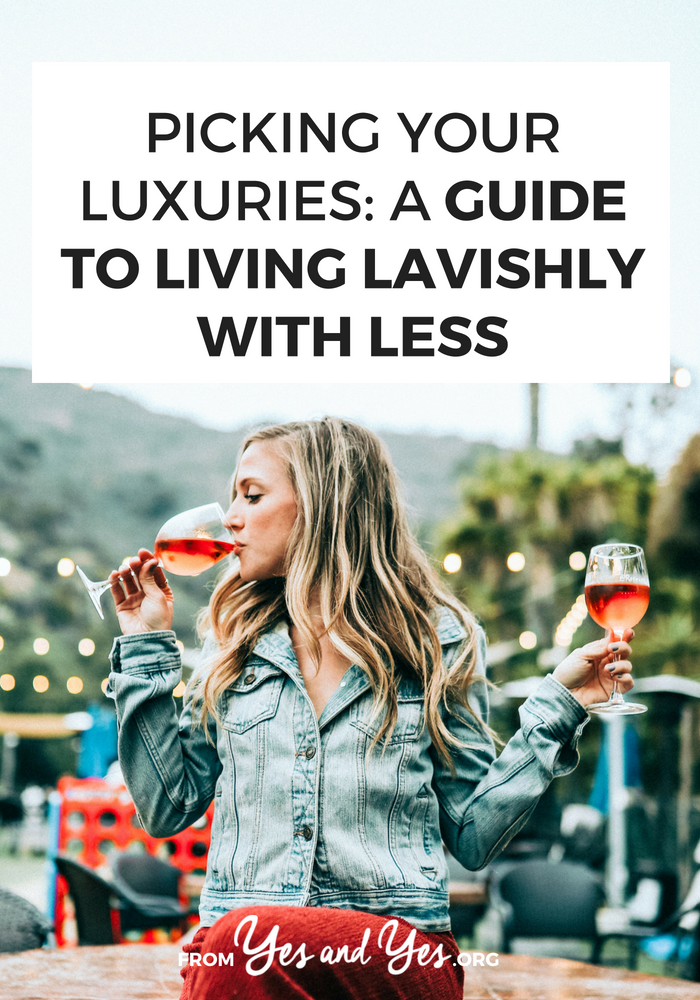 Can you live luxuriously while living on a budget? Yes! Sort of. Click through for find out how >> yesandyes.org