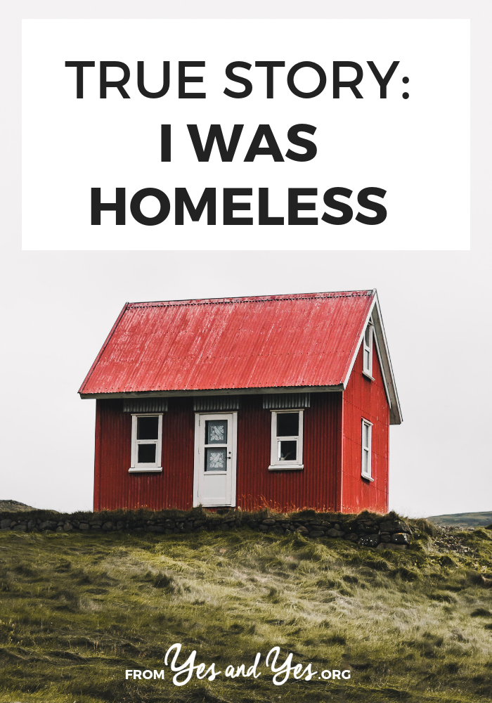 What's it like to be homeless? How does it happen and what does day-to-day life look like? Click through for one woman's story.