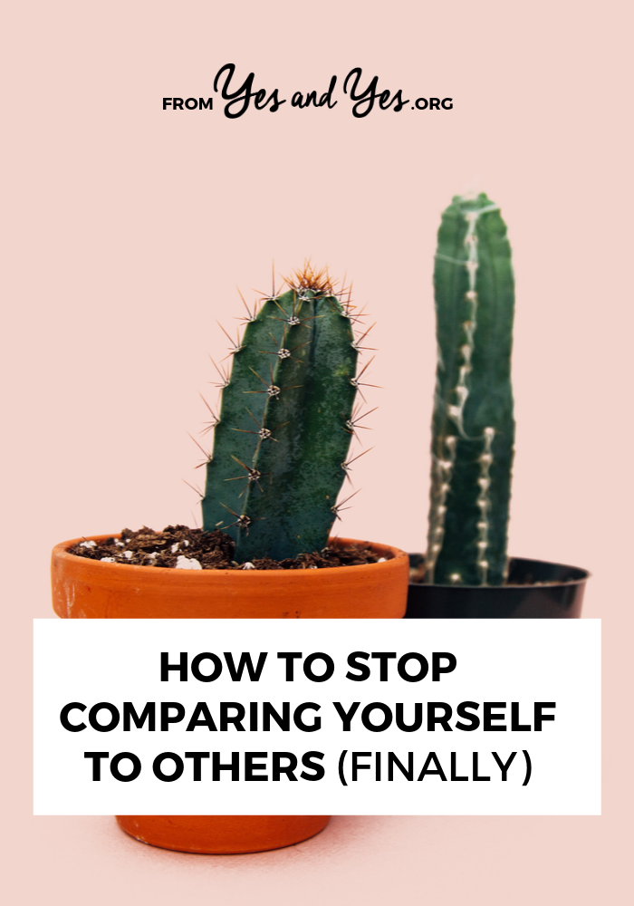 Want to stop comparing yourself to others? Avoid the comparison trap once and for all? It's possible, but it starts with YOU. Click through to learn how. #comparisontrap #envy #jealousy #comparingyourself