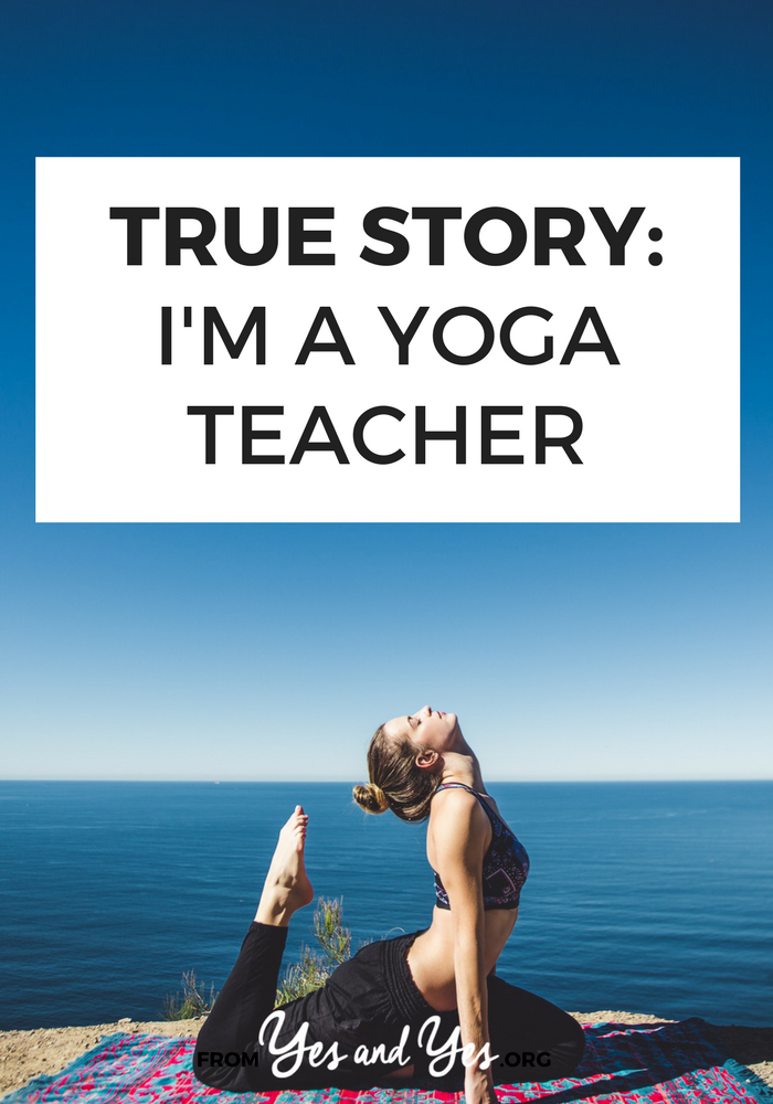 Have you ever wanted to work as a yoga teacher? Ever wondered if all that training translates into a good salary? Click through for one yoga teacher's tips and insights!