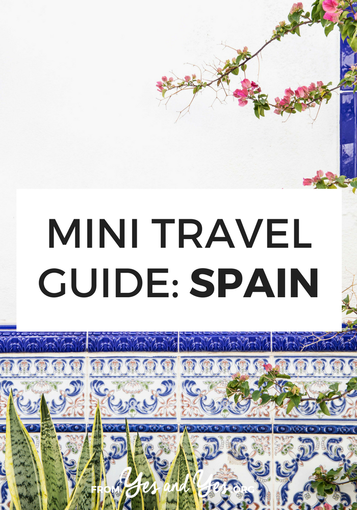 Looking for a travel guide to Spain? Click through for Spain travel tips from a local - what to do, where to go, and how to travel Spain cheaply, safely, and respectfully!