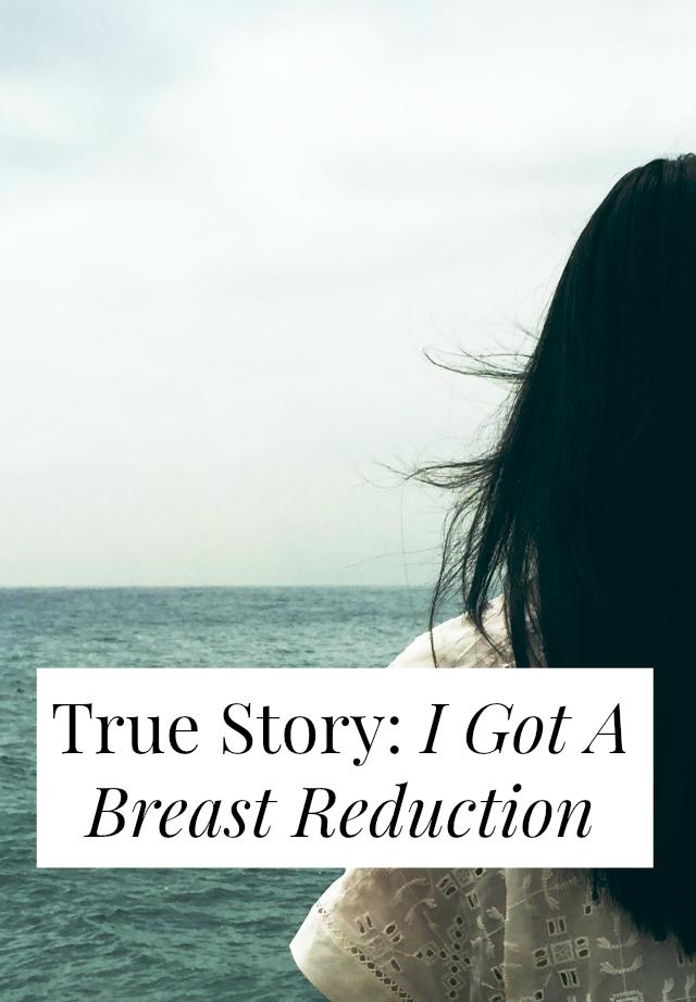 i got breast reduction