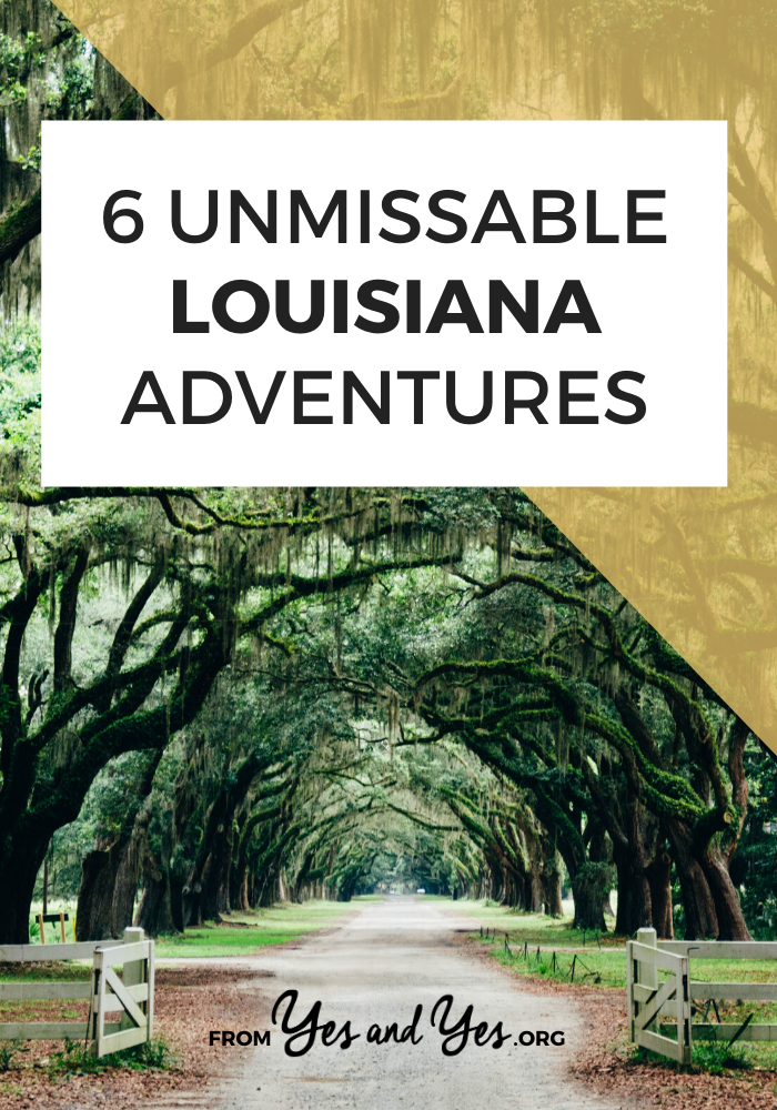 Looking for Louisiana adventures? Or things to do in Louisiana OTHER than Mardi Gras? Tap through for 5 Louisiana travel ideas you won't find elsewhere! #louisianatravel #Louisianatraveltips #mardigras