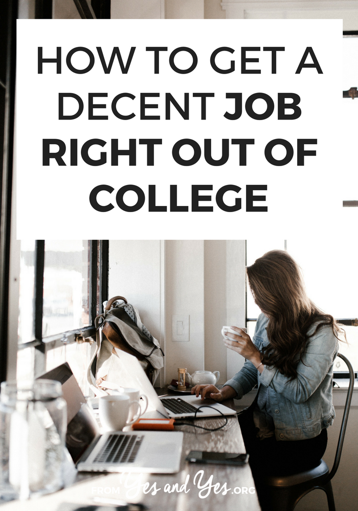 Are you trying to get a job after college? Looking for an entry level job with a liberal arts degree? It's possible! Click through for job-hunting tips for recent grads!