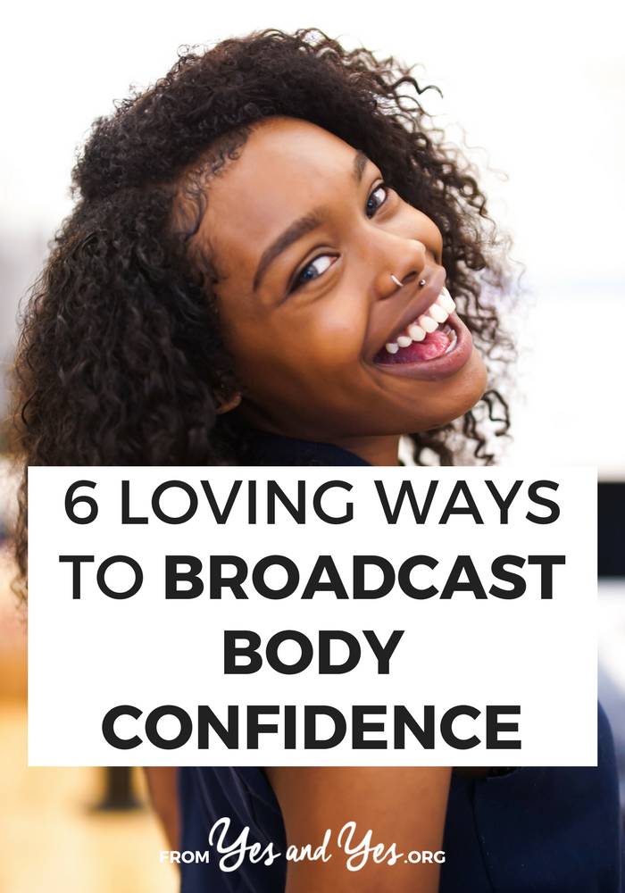 Body confidence is about self-esteem, self-love, and self-care. Also: how good your bra fits and how good your posture is. Click through for 6 easy ways you can show people you have body confidence today!