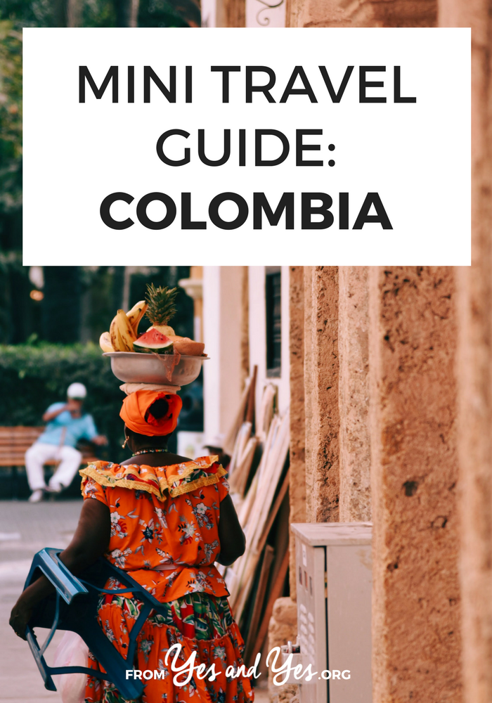 Looking for a travel guide to Colombia? Click through for a local's best Colombia travel tips - what to do, where to go, and how to travel Colombia cheaply, safely, and respectfully!