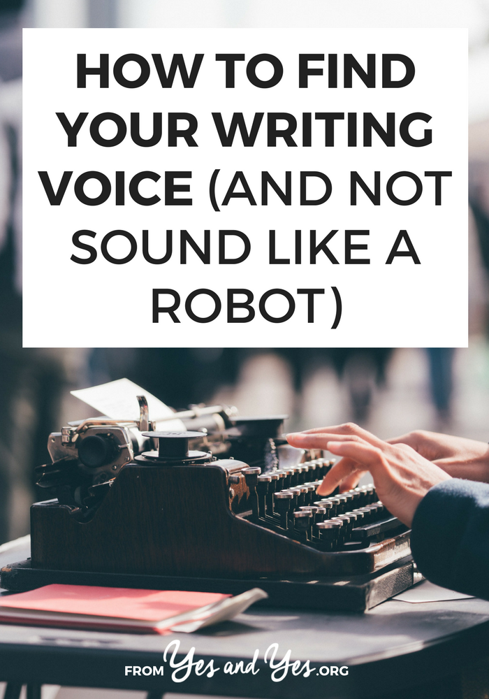 Finding your writing voice is one of the best, most important things you can do for your brand! Click through for three tips on how you can find it!