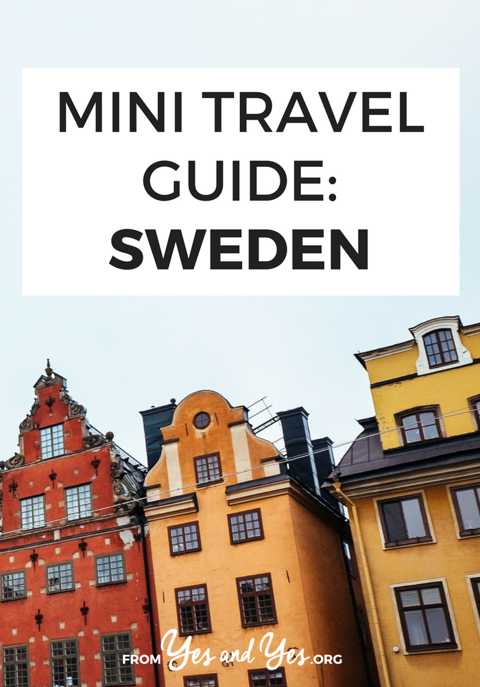 Looking for a travel guide to Sweden? Click through for Sweden travel tips from a local - what to do, where to go, and how to travel Sweden cheaply, safely, and respectfully!