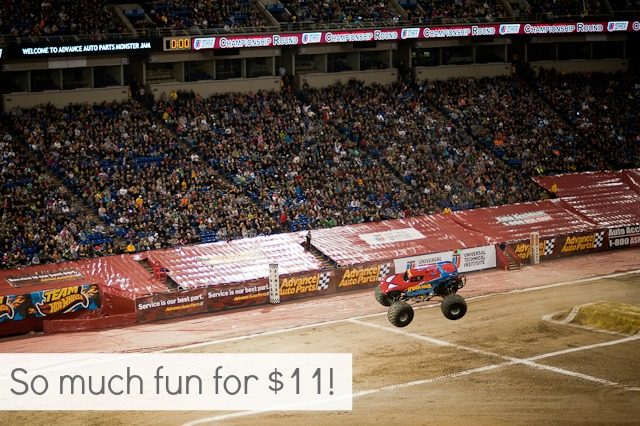 34 New Things: Go To A Monster Truck Rally