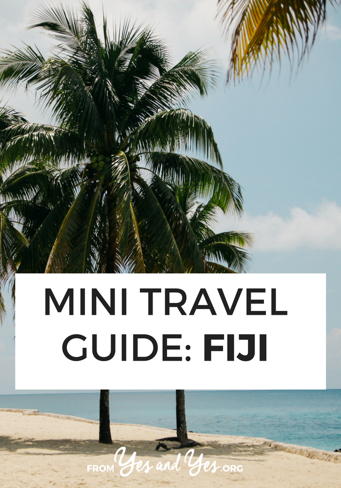 Looking for a travel guide to Fiji? Click through for a local's Fiji travel tips - what to do, where to go, what to eat, and how to do it all safely and respectfully!