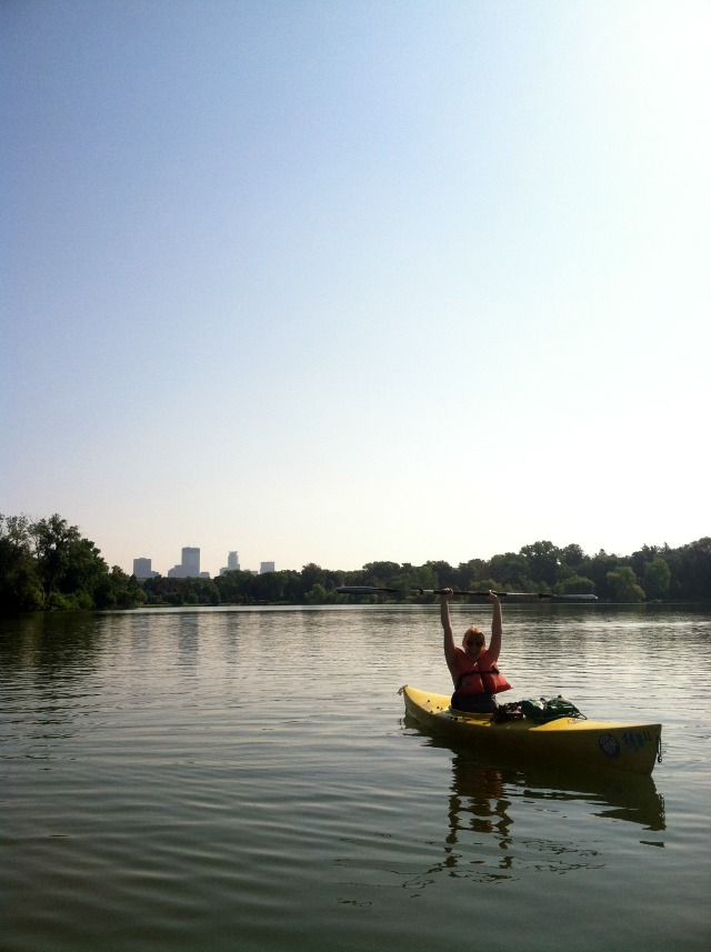 34 New Things: Go Kayaking