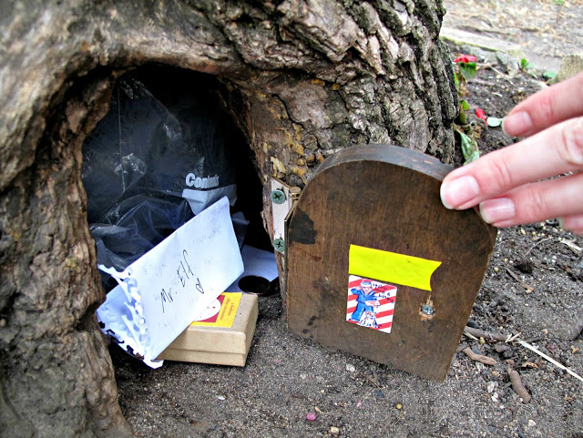 34 New Things: Leave A Note At The Lake Harriet Elf House