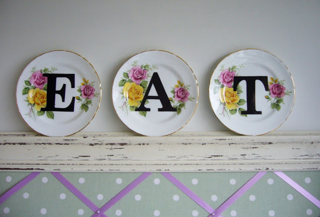 DIYs with dinner plates