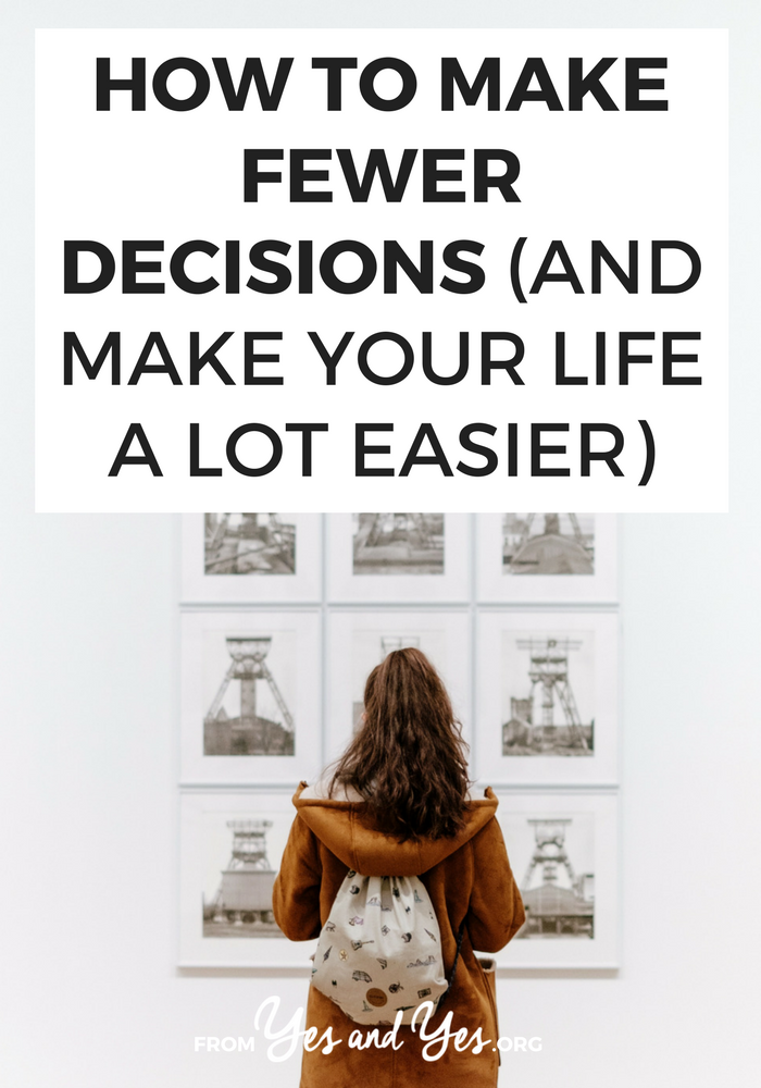 Want to be more productive? Have more energy? All the productivity tips in the world won't help you if you make the wrong decisions. Decision fatigue is real - Read on to find out what you should do instead. #growthmindset #inspiring #motivation #motivational #personaldevelopment #getoutofyourcomfortzone