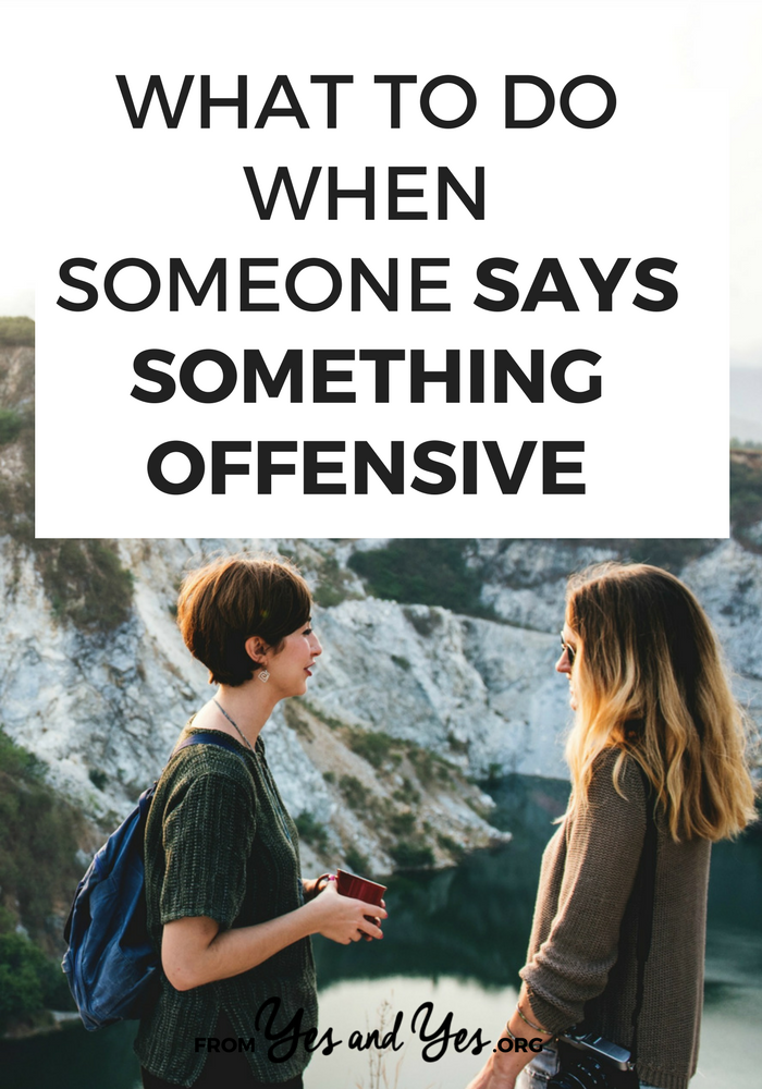 """If you're not particularly confrontational but you're sick of your friends using words like """"gay"""" and """"retarded,"""" this post is for you. // yesandyes.org"""