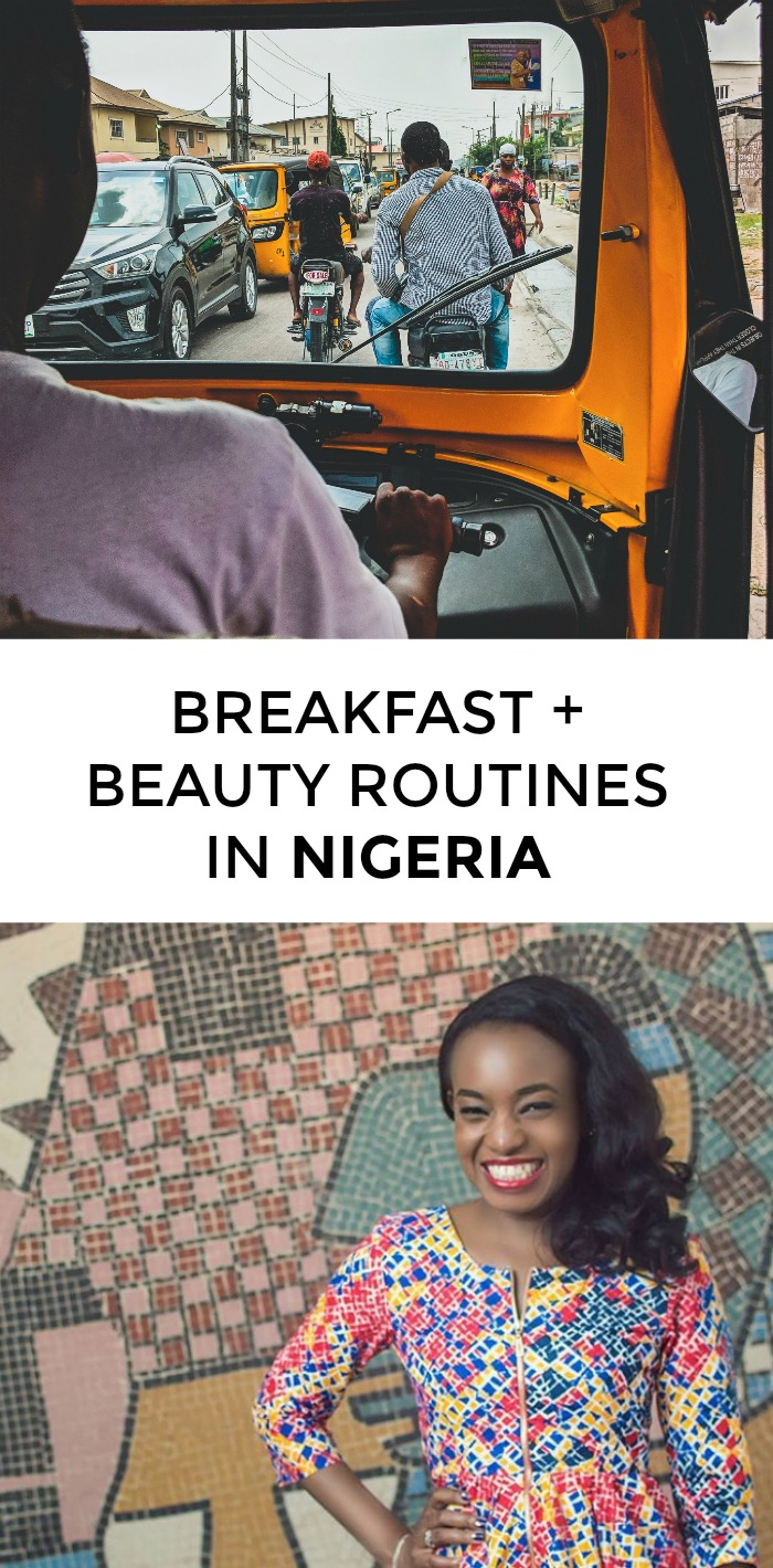 Wondering which Nigerian beauty products women swear by? What's the best Nigerian breakfast? Click through for Nigerian beauty tips from a local!