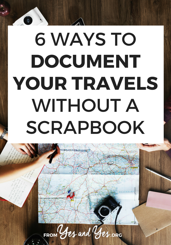 Do you want to document travel without a scrapbook? You like capturing memories but you don't want to spend 10+ hours pasting them into a scrapbook? These tips for capturing travel memories are easy and sweet!  #usatravel #usaroadtrip #travelusa #ustravel #ustraveldestinations #americatravel #travelamerica #vacationusa #usatrip