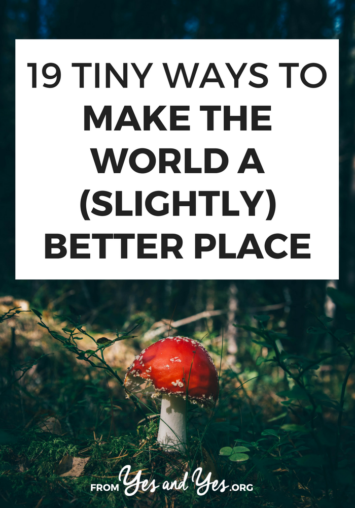 Want to make the world a better place? Well, that ish is a long road, but we can start with these little random acts of kindness and personal responsibility #kindness #inspiration #motivation