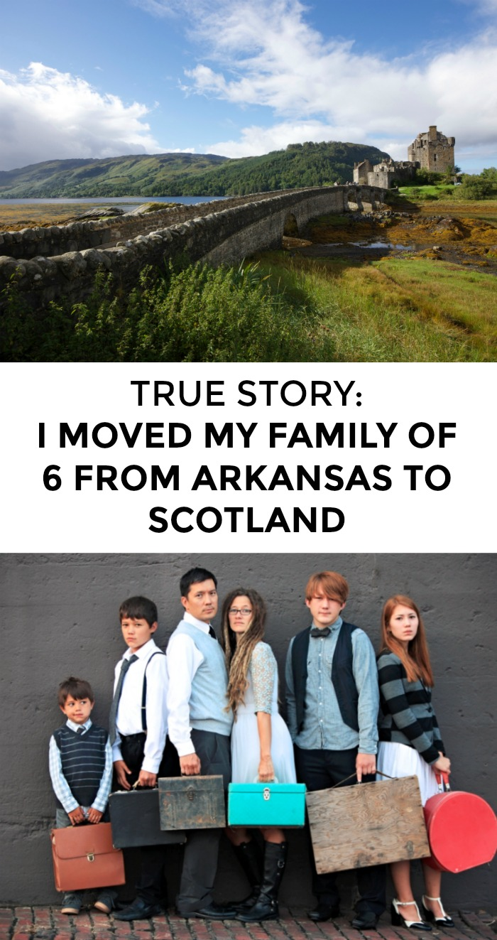 Want to move your family across the globe? Wish you could live abroad as a family? It's not easy but it can be done! Click through for one family's story!